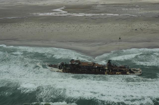 Chamarel Ship Dismantling