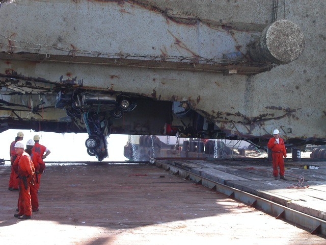 Tricolor Ship Dismantling