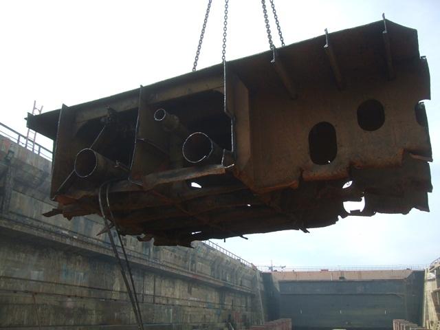 Fedra ship Dismantling Soenen