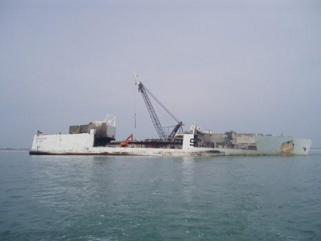 Rokia Delmas ship breaking