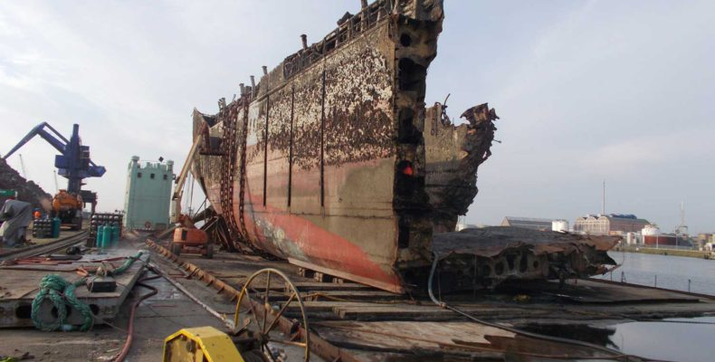 Flinterstart Ship breaking