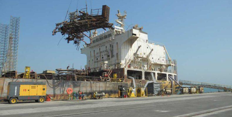 Ship Dismantling ship yard