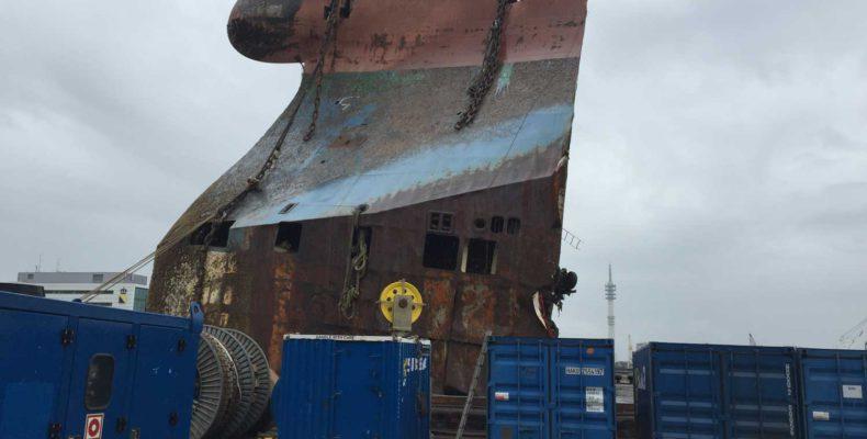 Baltic Ace Ship Dismantling