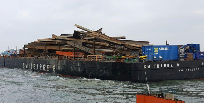 Flinterstar ship dismantling