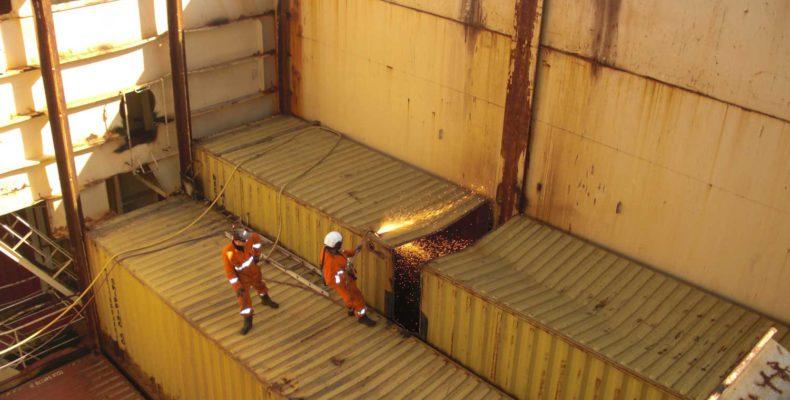 Rena Ship Dismantling