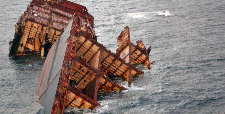 Rena Shipwreck