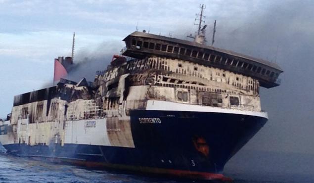 Sorrento Ship Fire