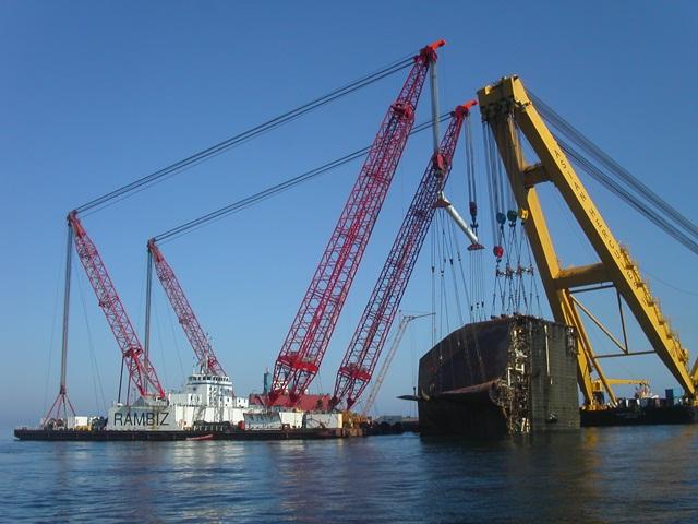 Tricolor Soenen Ship Dismantling